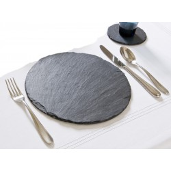 Just Slate Scottish Slate Round Placemats