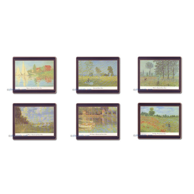 Lady Clare French Impressionists Coasters