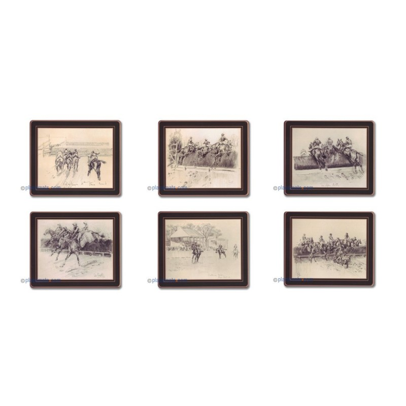 Lady Clare Peter Biegel Collection Coasters