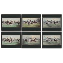 Lady Clare Modern Polo Coasters