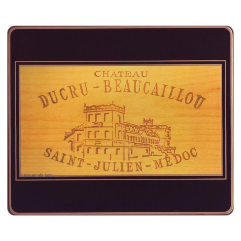 Lady Clare Placemats Wine Labels