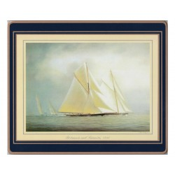 Lady Clare Placemats Racing Yachts