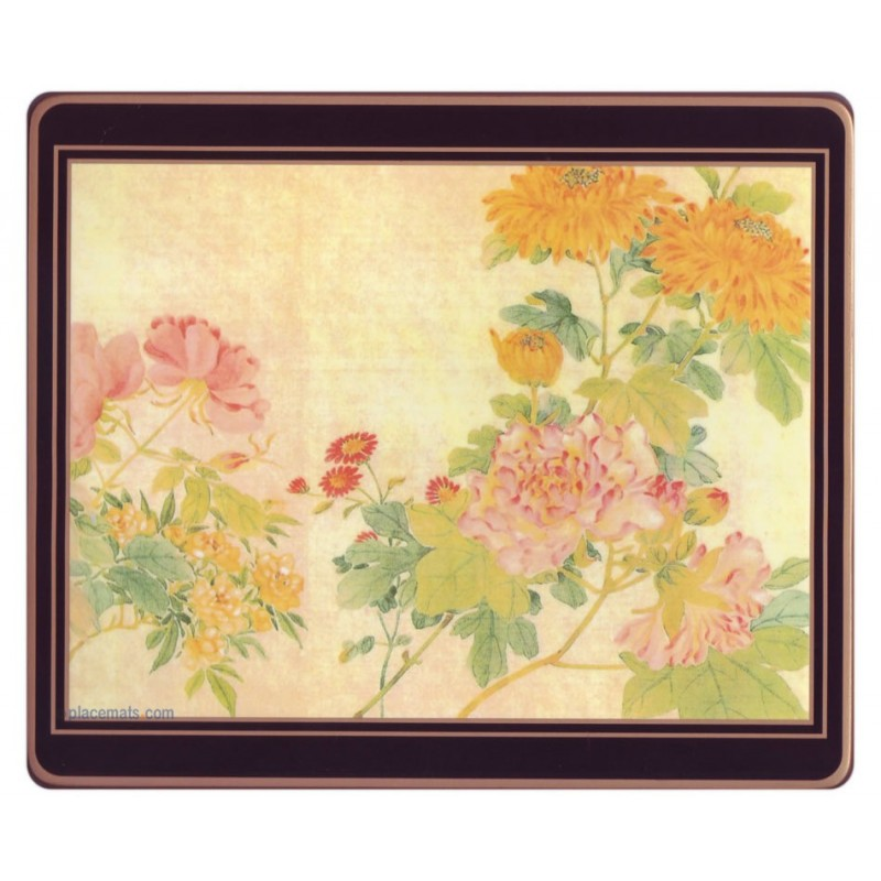 Lady Clare Placemats Chinese Flowers