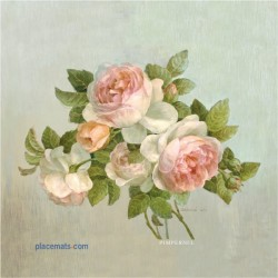 Pimpernel Antique Roses Coasters