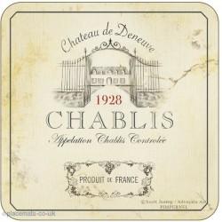 Pimpernel Vin de France Chablis Coasters