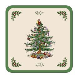 Pimpernel Christmas Tree Coasters