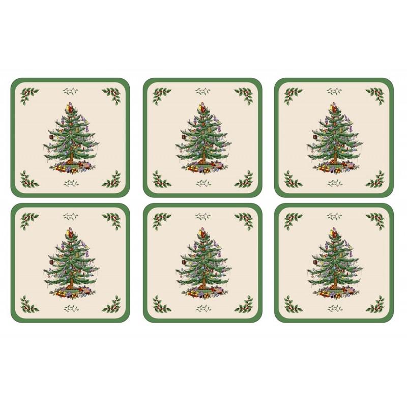 Pimpernel Christmas Tree Coaster