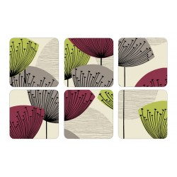 Pimpernel Dandelion Clocks Coaster