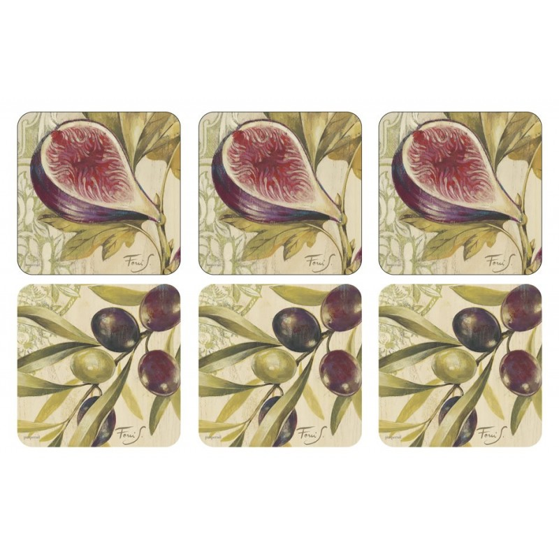 Pimpernel Figs and Olives Coaster