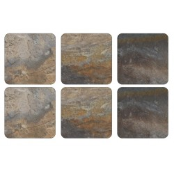 Pimpernel Earth Slate Coaster