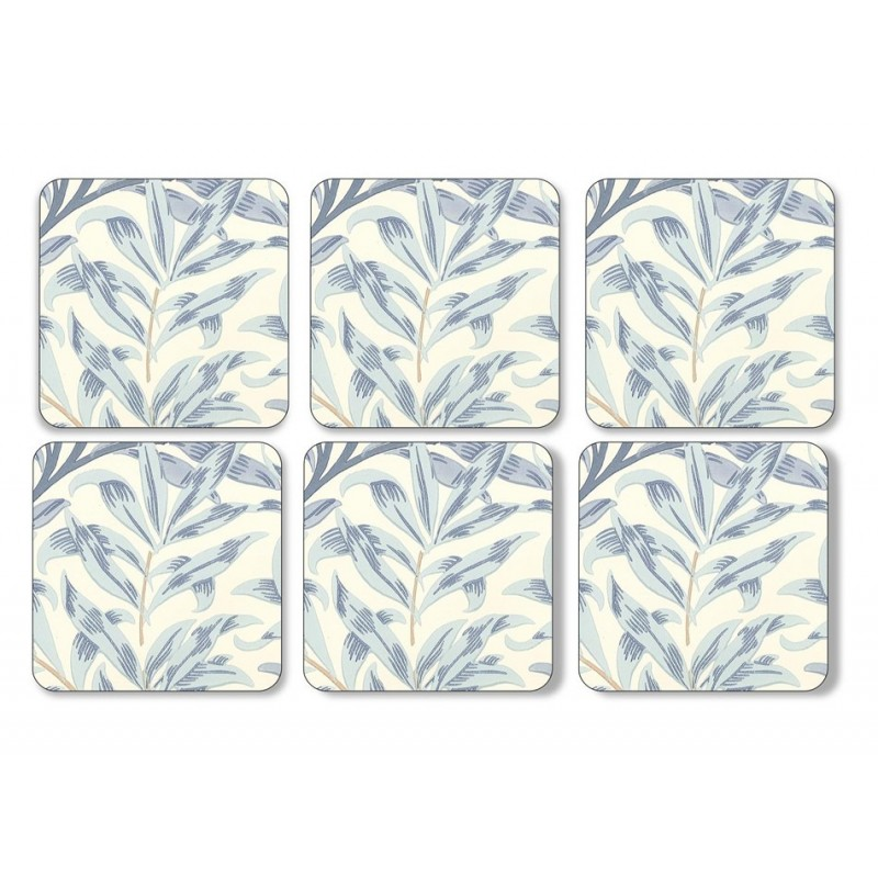 Pimpernel Willow Boughs Blue Coaster