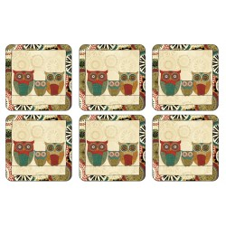 Pimpernel Spice Road Coaster, stylish owl design