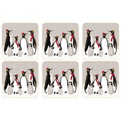 Pimpernel Sara Miller Penguins Coaster set of 6