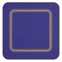 Plymouth Pottery Regal Blue Coasters