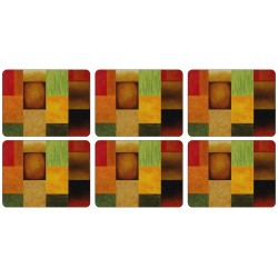 Plymouth Pottery Majestic Squares Tablemats