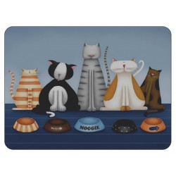 Plymouth Pottery Hungry Cats Placemats