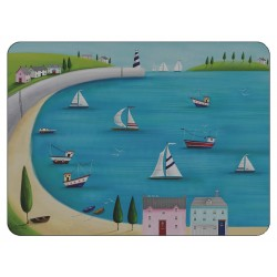 Plymouth Pottery Poole Harbour Placemats