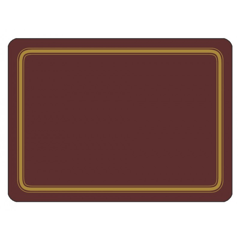 Plymouth Pottery Regal Burgundy Placemats