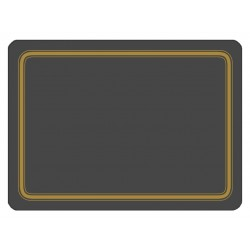 Plymouth Pottery Regal Black Placemats