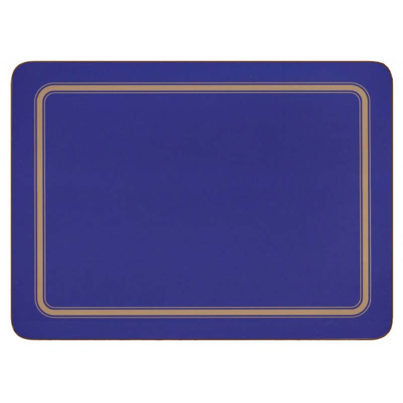 Plymouth Pottery Regal Blue Placemats