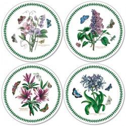 Pimpernel Botanic Garden Round Tablemats