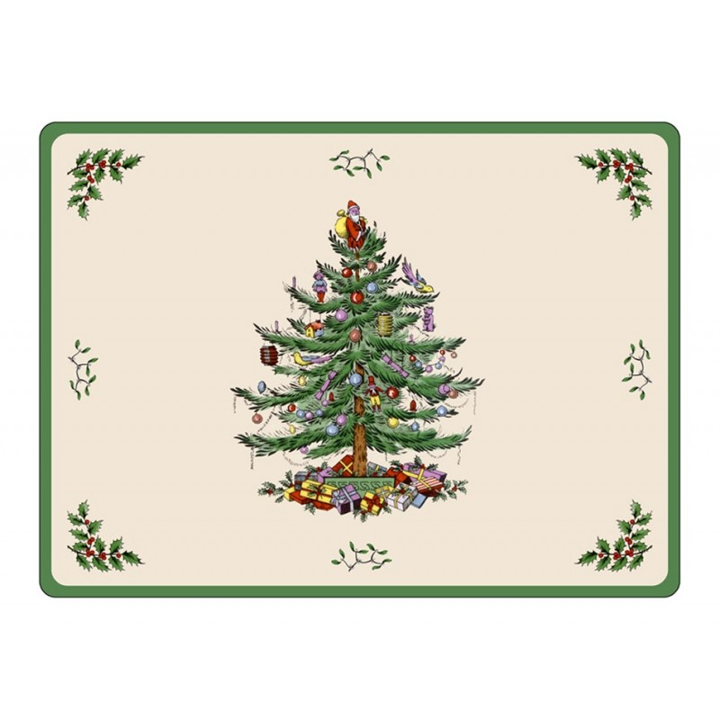 Pimpernel Christmas Tree Placemats