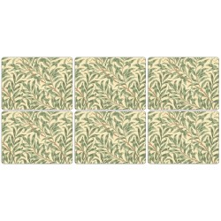 Pimpernel Willow Boughs Green Tablemats