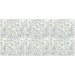 Pimpernel Willow Boughs Blue Tablemats