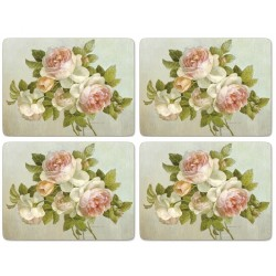 Pimpernel Antique Roses UK Large Tablemats