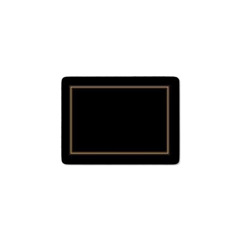 Pimpernel Classic Black Large Placemats