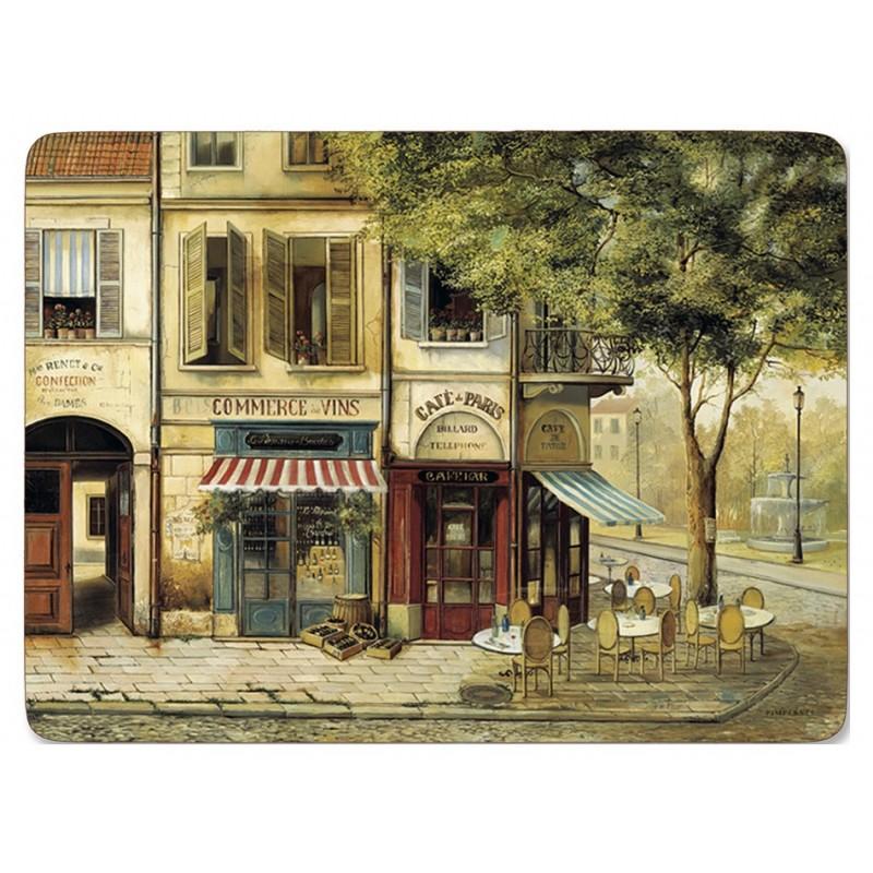 Pimpernel Parisian Scenes Large Placemats