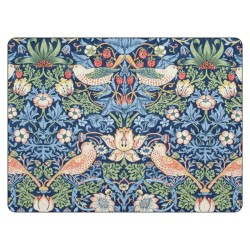 Pimpernel Strawberry Thief Blue Large Placemats