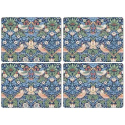Pimpernel Strawberry Thief Blue UK Large Tablemats