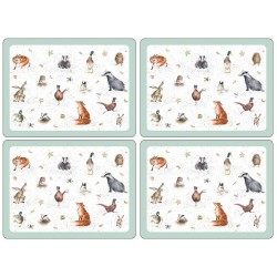 Pimpernel Wrendale UK Large Tablemats