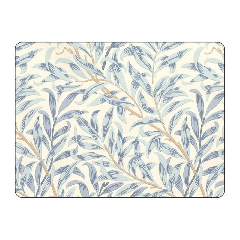 Pimpernel Willow Boughs Blue Large Placemats