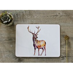 Toasted Crumpet Stag placemats