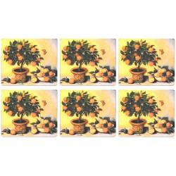 Lady Clare Orange Tree Placemats Set of Six