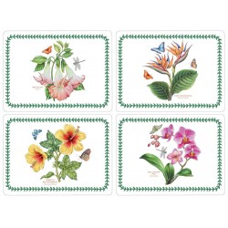 Pimpernel Exotic Botanic Garden UK Large Tablemats