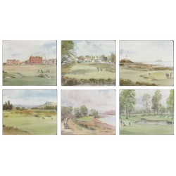 Lady Clare Golf Courses Melamine Placemats