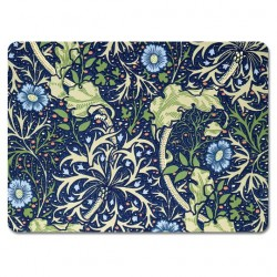 William Morris Mixed Patterns Seaweed Tablemats