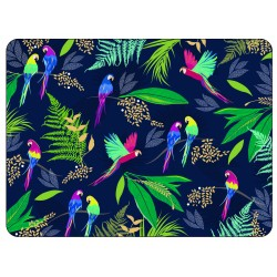 Pimpernel Sara Miller Parrot set of 4 placemats