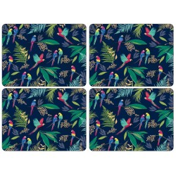 Pimpernel Sara Miller Parrot Large Placemats set of 4
