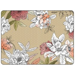 Pimpernel Floral Sketch placemats