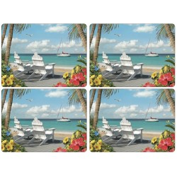 Pimpernel In the Sunshine Large Placemats set of 4
