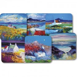 JoLoMo Assorted square melamine coasters