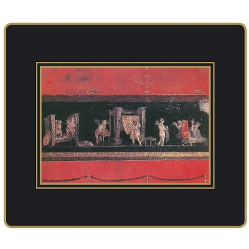 Lady Clare Placemats Pompeii scenes