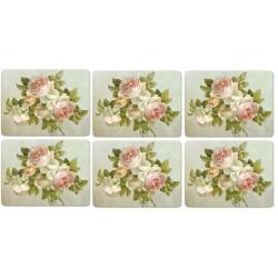 Pimpernel Antique Roses 6 tablemats pack