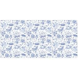 Portmeirion Botanic Blue 6 floral tablemats corkbacked