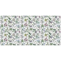 Pimpernel Botanic Garden Chintz 6 floral tablemats corkbacked