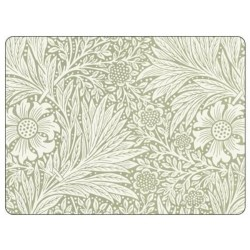 Pimpernel Morris Marigold Green Placemats